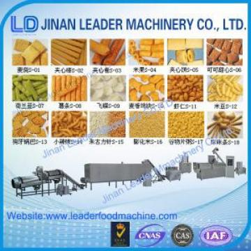 Automatic twin screw extruder food snacks machine for corn pellet snack
