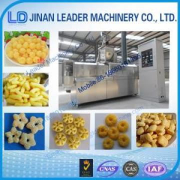 Automatic corn puffs twin screw extruder food industry equipment