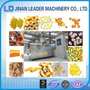 Puffed snack food processing machine corn puff extruder corn snacks