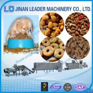 Double Screw extruder pet dog fish food making machine
