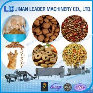 Automatic dog food twin screw extruder food process machinery