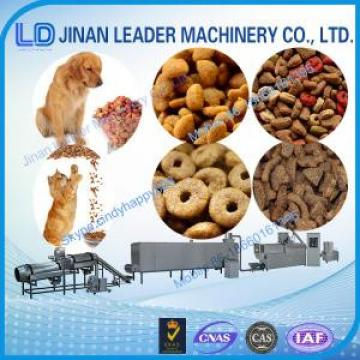 Automatic Low consumption dog food making extruder machine for fish feed