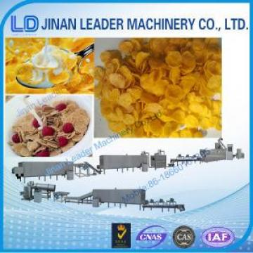 Easy operation corn flakes twin screw extruder production process