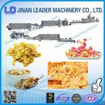 Automatic maize flakes feed double screw extruder making machine