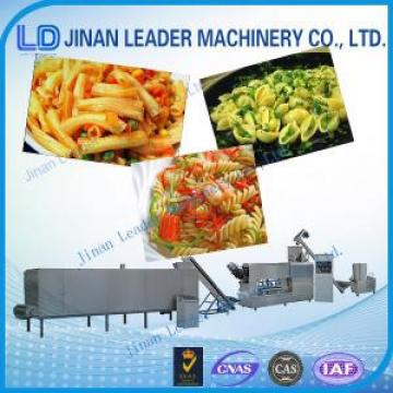 Stainless steel industrial pasta macaroni machine single screw extruder