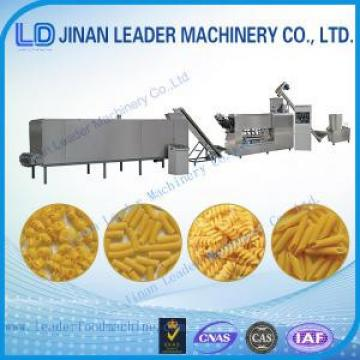 Industrial professional pasta macaroni food process machinery