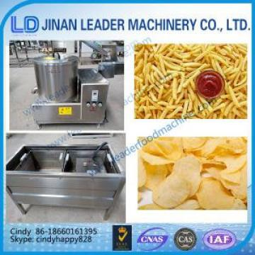 Small Scale Automatic crispy potato chips making machine Industrial Continuous Deep Fryer