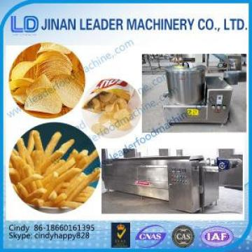 small scale fried potato chips making machine automatic frying machine