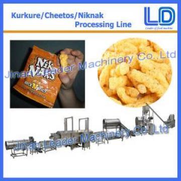 Low consumption kurkure making machine snack production line