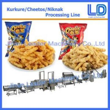 Commercial crisps kurkure making extruder machine plant