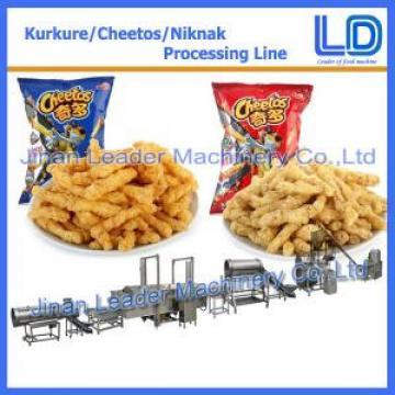Industrial kurkure cheetos crisps puffcorn puffs extruder machinery