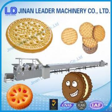 Industries High efficiency soft waffle biscuit food Production line