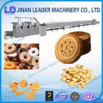 Stainless steel machine for making biscuit soft hard cookies processing