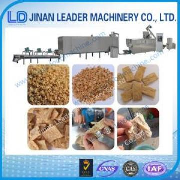 Low consumption soybean protein production line extruder machine