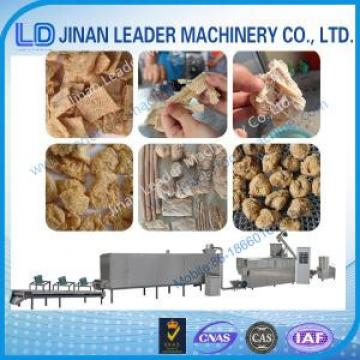 Industrial textured soya protein snack food industry machinery