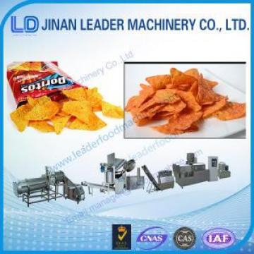 Industrial doritos production line corn chips making equipments snacks food machine