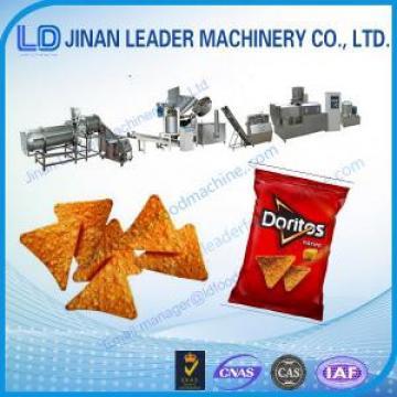 Low consumption corn chips doritos processing machine production line