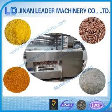 Artificial / Nutrition Rice Processing Line snacks food making machine
