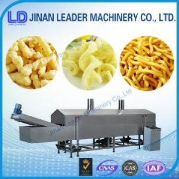2015 High efficiency potato chips puffed food industry machines