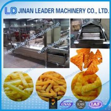 Easy operation deep fryer frying snack food industry machinery