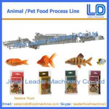 100kg/hr Cat,dog ,fish treats /pet food Processing Equipment