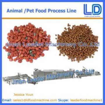 CE certificate Cat,dog ,fish treats /pet food Processing Equipment