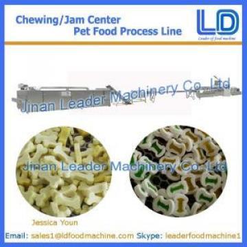 Chewing/jam center dog treats making machine