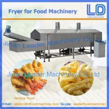 Fryer for food machinery
