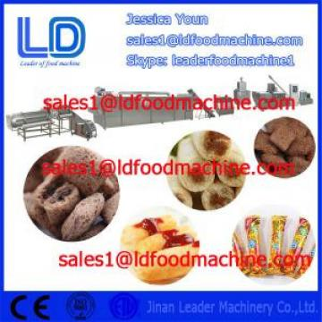 Big capacity Automatic Core Filled/Inflating Snacks Food making Machinery