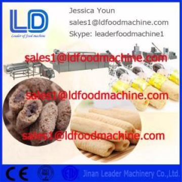Stainless steel Big capacity Core Filled/Inflating Snacks Food Processing line