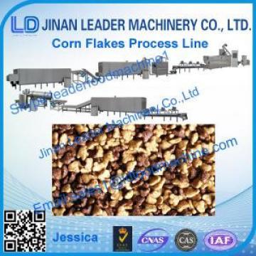 Corn flakes process line,2015 high wholesale corn flakes  machine