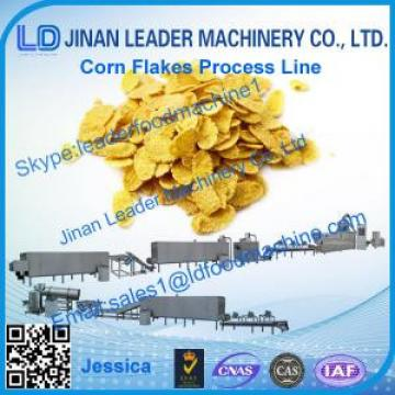 Corn flakes processing line, hot sale corn flakes breakfast cereal production line