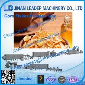 Corn flakes process line,2014 hot sale corn flakes extruder line