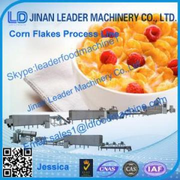 Corn flakes process line,2014 hot sale cereal corn flakes production line