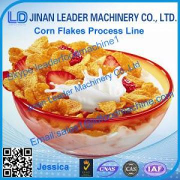 Corn flakes processing line,2015 hot sale cereal corn flake equipment