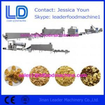 Corn flakes process line,breakfast cereals making machine