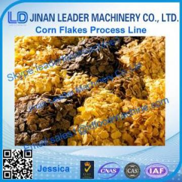 hot sale breakfast cereals corn flakes processing line