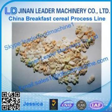 Corn flakes processing line, extruded corn flakes machines