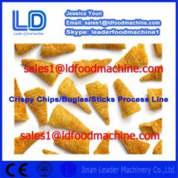 China Crispy chips processing equipment,salad/bugles processing line