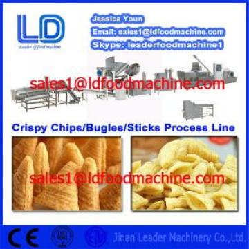 High Quality Crispy chips /salad/bugles making machine China supplier