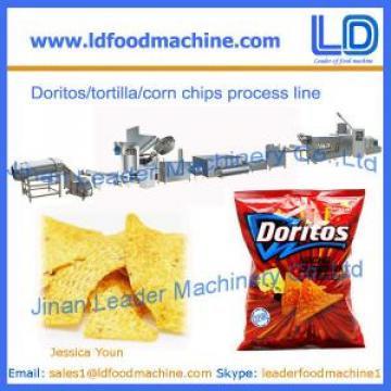 Corn chips processing line,Doritos/tortilla snacks food making machine