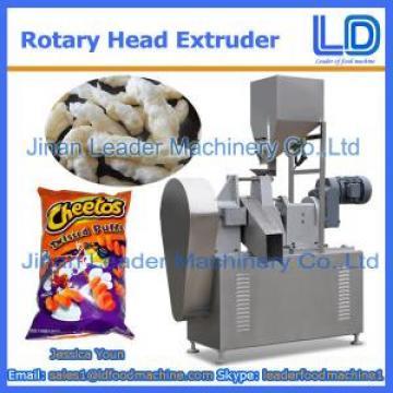 Big capacity Rotary head extruder for Niknak, cheetos, kurkure, cheese curls