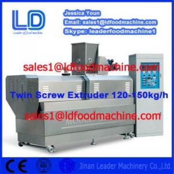 Double Screws Snack foods Extruder Machine