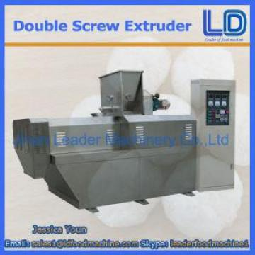 304 Stainless steel double screw extruder food snack machine