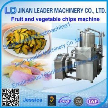 fruit and vegetable crisps process line