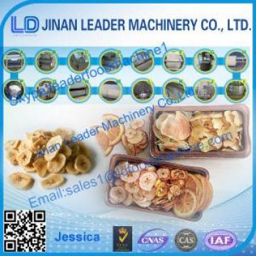 Fruit and Vegetable Chips processing machinery