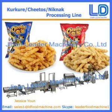 China Factory KURKURE /CHEETOS /NIKNAK Snacks food processing Equipment