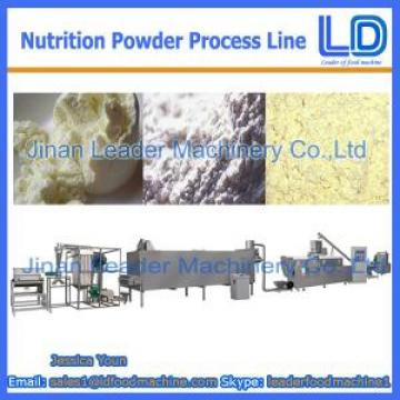 Nutrition powder processing eauipment,Baby rice powder food machinery for sale