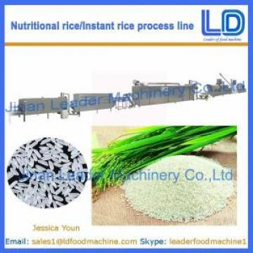 Instant Rice/Nutritional Rice Food Process line/machinery