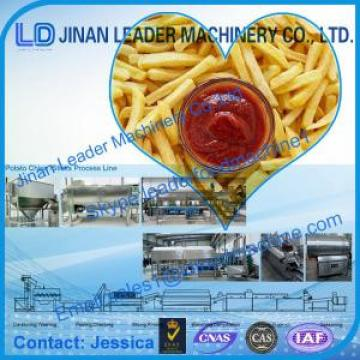 Jinan leader Potato chips sticks food processing line,automatic machine best quality